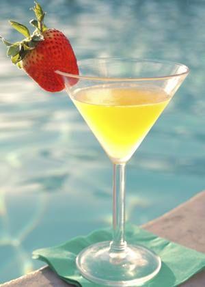 Classic Mango Martini