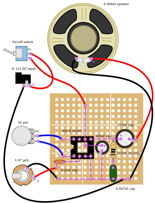 Wiring Diagram For Guitar Amp : Best images about guitar wiring diagrams on pinterest