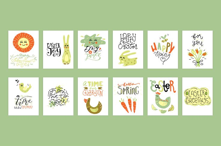 Easter & Spring creative collection - Illustrations - 10