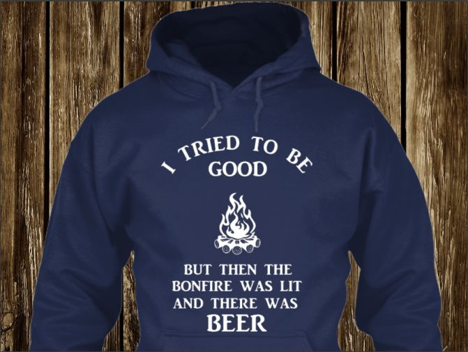 Bonfire & Beer...  You can get yours here: https://teespring.com/bonfire--beer #outdoor #knives #camping #hunting