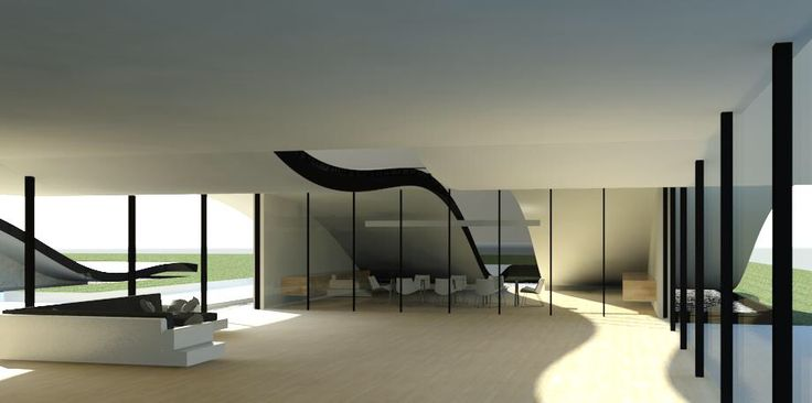 The wave office! Living space