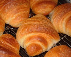 .....profumi e colori .....: Cornetti/croissant con ........ lievito liquido o lievito di birra