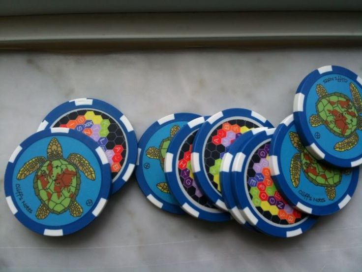 Buy a set of poker chips.. design your Profile signature item and print a hundred or more... Printer shoud also be able to pre-cut the circular desings, so you just peel it of and stick on your poker chips. easy-peezy.