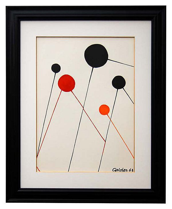 One Kings Lane - Modern Masters - Alexander Calder, Bubbles