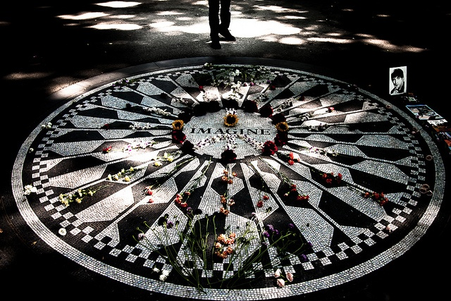 Strawberry Fields NYC by revolvopolis, via Flickr