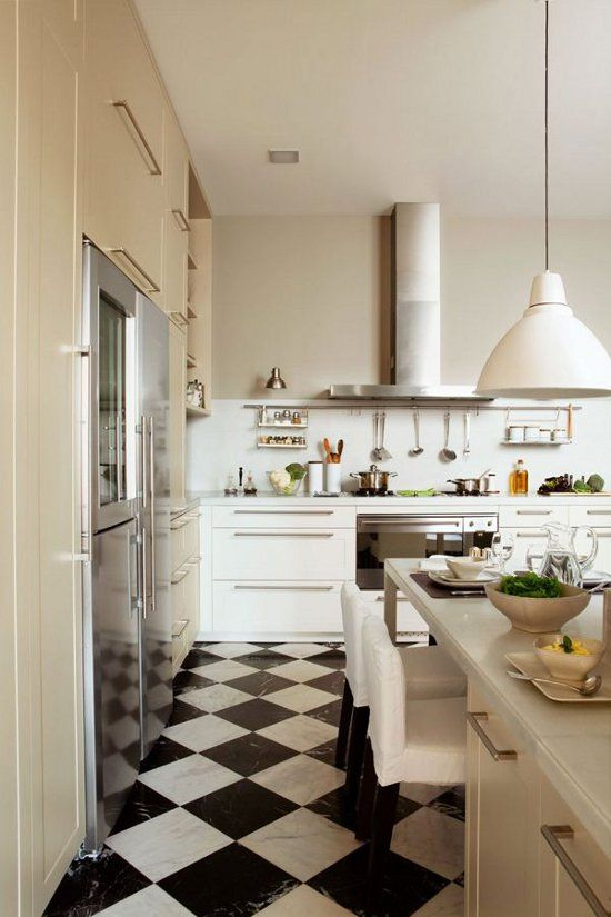 Awesome Dustjacket Attic: Peonies, Hot Fudge U0026 Ice Cream + Checkerboard Floors.  Kitchen ... Amazing Pictures