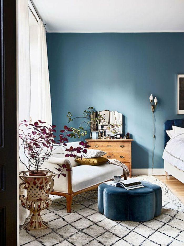 Wunderbar ▷ 1001 + Ideen Für Schlafzimmer Modern Gestalten | Einrichtungsideen |  Pinterest | Hocker, Schlafzimmer Und Sessel