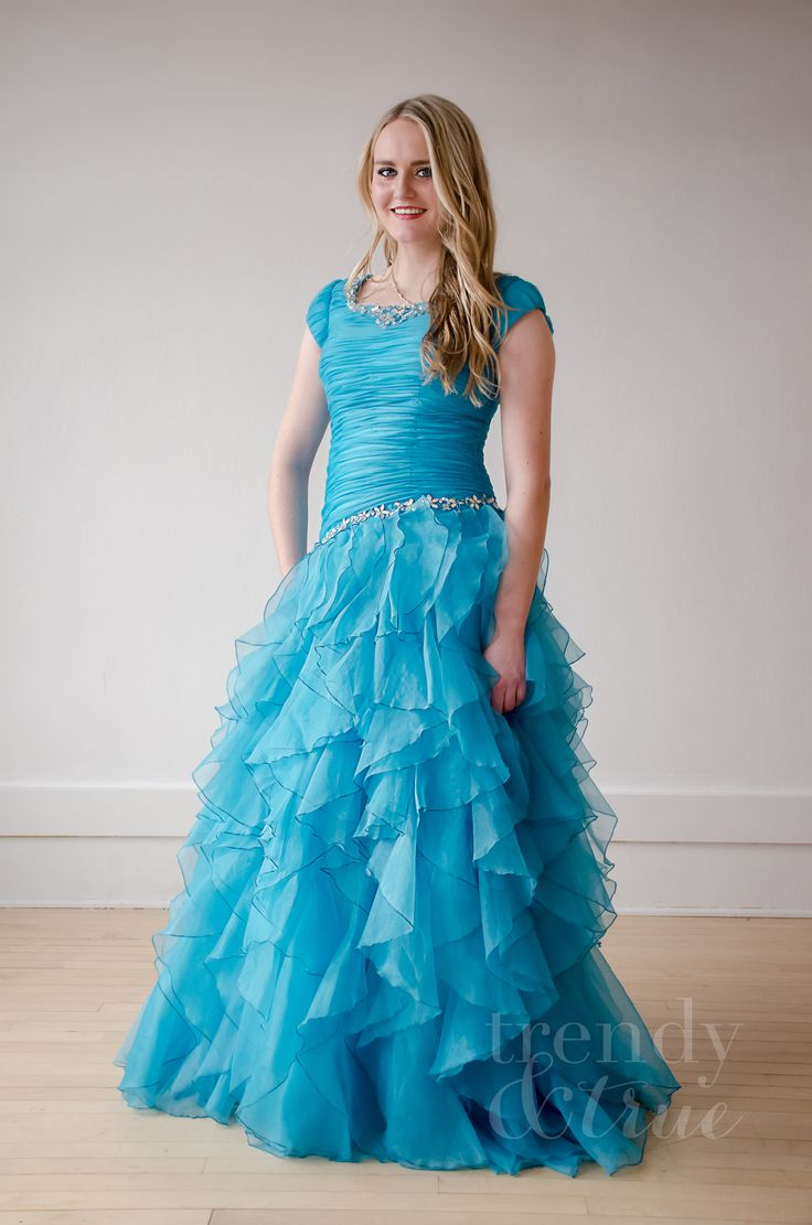 29 best Modest Prom Dresses images on Pinterest | Bodice, Closure ...