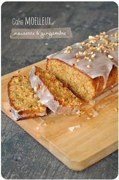 Une tuerie. Si si si. Ce gâteau est tellement riche en saveurs, et la douceur de la noisette associée au piquant léger du gingembre, avec le glaçage au citron, tout ça fonctionne trèèès bien ensemble. Une explosion en bouche! Cake moelleux noisette et...