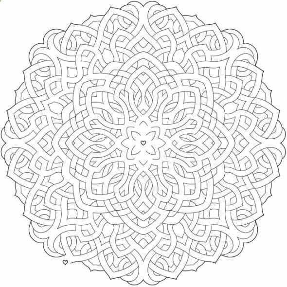 Viking Coloring Pages For Adults : Free celtic mandala coloring pages book