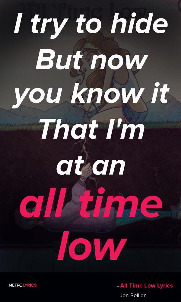 All time low // Jon Billion