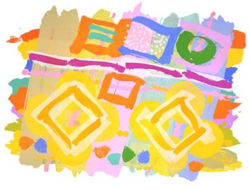 British Abstract Expressionist painter, Albert Irvin, is known for his eye-popping, colorful paintings and screen prints. To see more o...