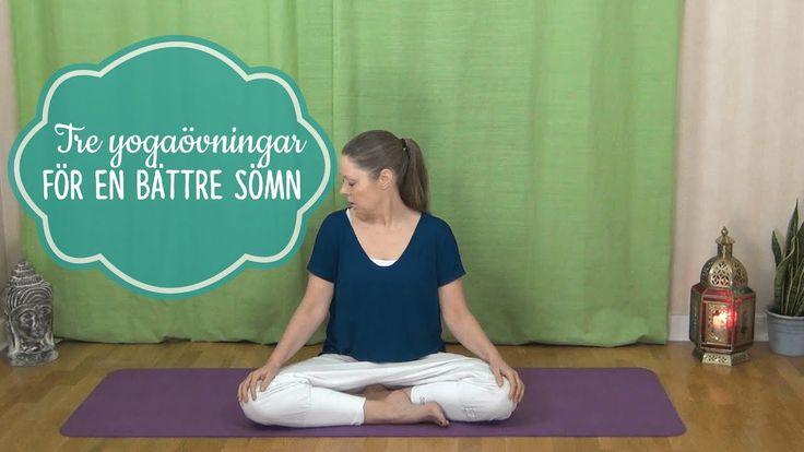 Tre yogaövningar för dig som har svårt att sova - Mediyoga