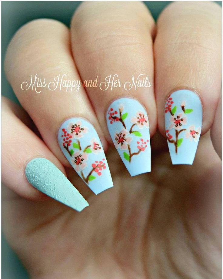 66 best Cherry Blossom Inspired Nails, Makeup, and Fashion. images ...