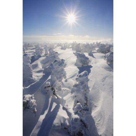 Mont Logan Gaspesie National Park Quebec Canvas Art - Yves Marcoux Design Pics (11 x 17)