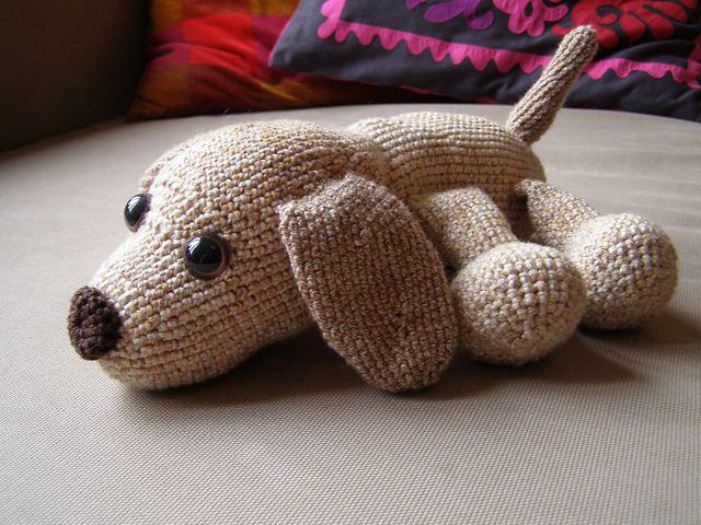 FREE Doggie Dog Amigurumi Crochet Pattern and Tutorial