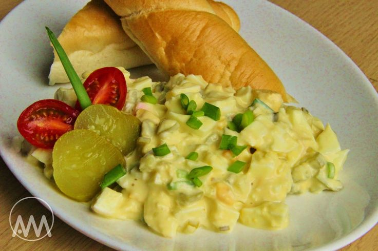 V kuchyni vždy otevřeno ...: Křenový vajíčkový salát