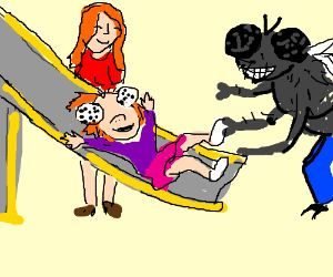 The Fly Monster is a great husband and father
