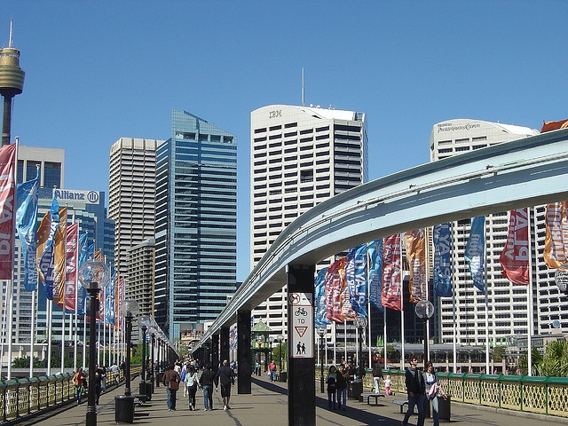Sydney Darling Harbour / Harbor! Will be seeing it again soon on my Big Travel Adventure!