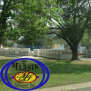 Majestic Services received the CMU Block for the Leander Police Department Sally Port Project.  Exterior frame will begin the first week in May.  Call Majestic Services, Inc. at (512) 524-7411 Majestic Services, Inc. online at https://www.majesticsvc.com  #majesticsvc #majesticservices #majesticservicesinc #services #austin #austintexas #austintx #leander #leanderpolicedepartment #construction #contractor #constructionaustin #constructionaustintx #constructionaustintexas #generalcontractor…