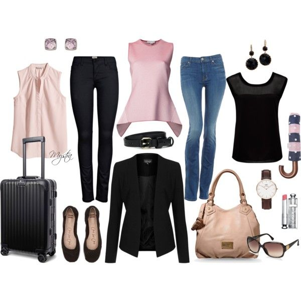 """Two-day travel pack"" by cafemystra on Polyvore"