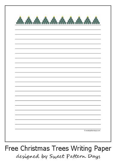 free christmas writing paper - Baskanidai