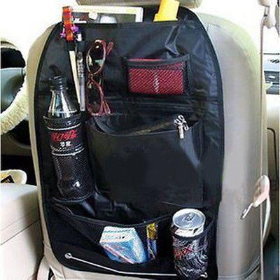 Car Seat Bag Storage Car Accessories Multi Pocket Organizer Car Seat Back Bag