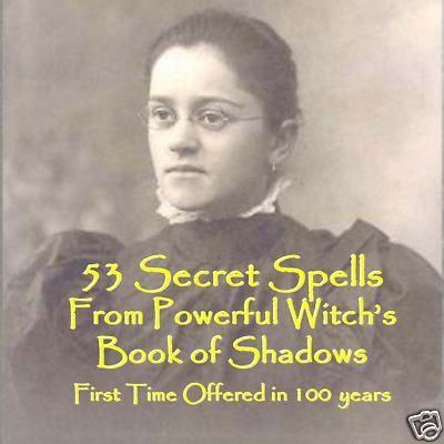 Powerful Magick Spells Book on CD Voodoo Wicca Love 53 Spells Mother Ida Magic | eBay