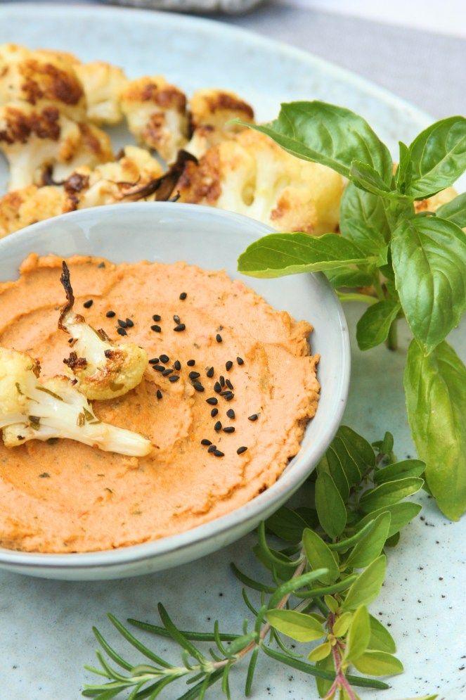 Sun dried tomato hummus / Hummus se sušenými rajčaty