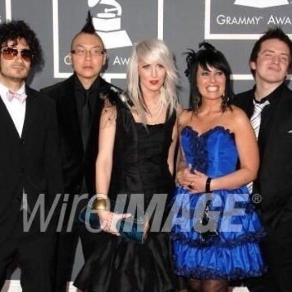 """""""Karen Hendrix Couture Archives"""" Grammy Nominated lead singer Trisha Brock of the band Superchick wore Karen Hendrix Couture at the 2010 Grammy's.  #tbt #grammys by karenhendrixcouture"""