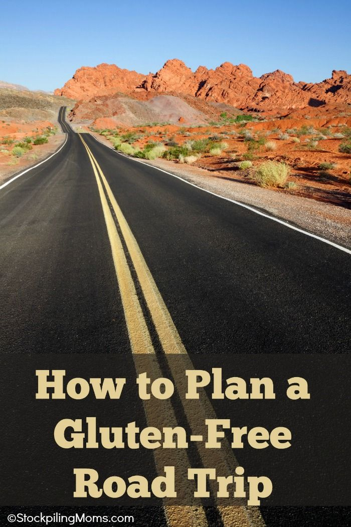 How to Plan A Gluten-Free Road Trip - A must read if you are gluten free or have Celiac Disease.  When you go on your next vacation we are here to helpl!