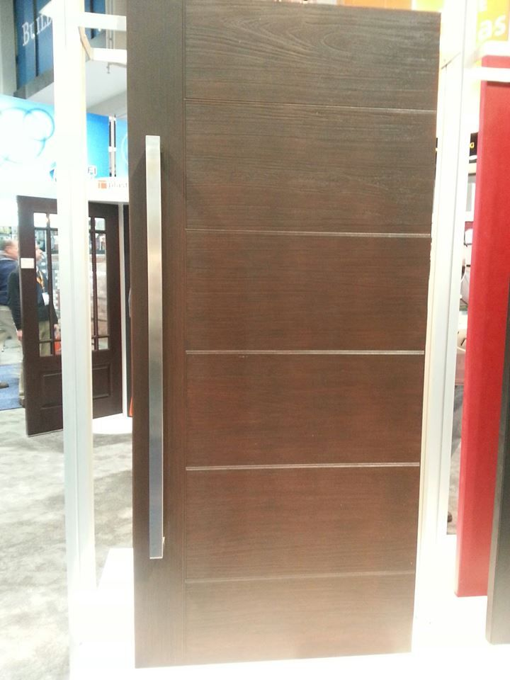 New Modern Doors From Plastpro.
