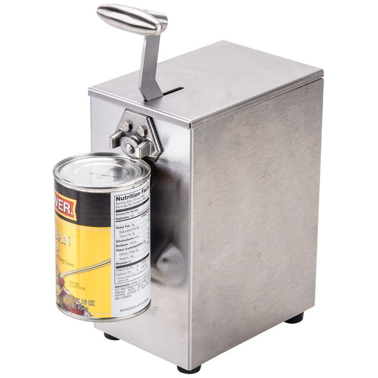 Edlund 203 Two-Speed Tabletop Electric Can Opener - 115V