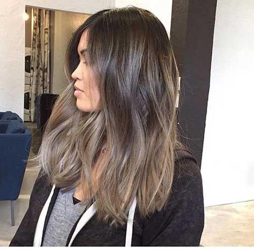 Verschiedene lange Frisuren für stilvolle Frauen #frauen #frisuren #lange #stilvolle #verschiedene