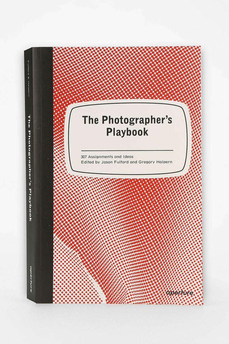 The Photographers Playbook: 307 Assignments And Ideas By Jason Fulford & Gregory Halpern - Urban Outfitters