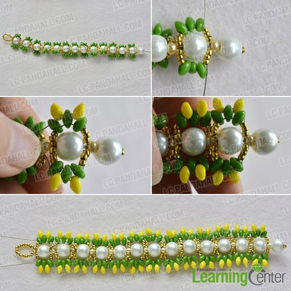 Wanna make some bright beads bracelets? If yes, you may get some inspirations from today's Pandahall tutorial on how to make colorful pearl and 2-hole seed beads bracelets for women.