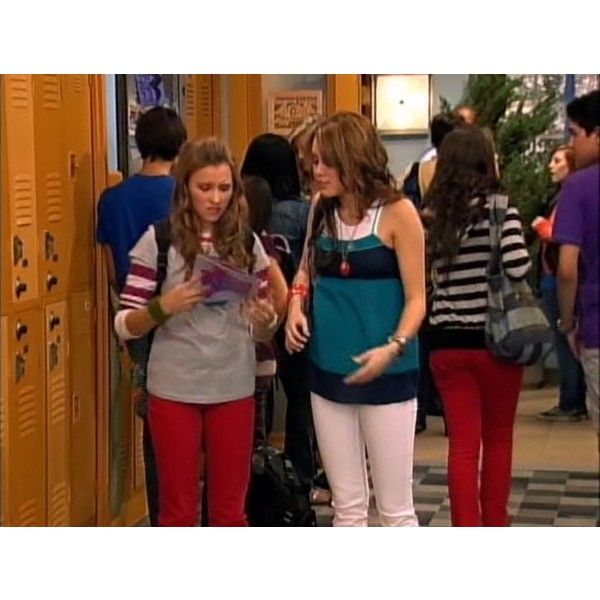 Miley Cyrus - Miley Stewart - Cheat It - Hannah Montana ❤ liked on Polyvore