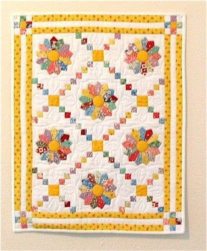 30's print dresdan plate quilt pattern - Google Search                                                                                                                                                      More