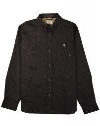 Fourstar LS Woven Shirt Koston Black