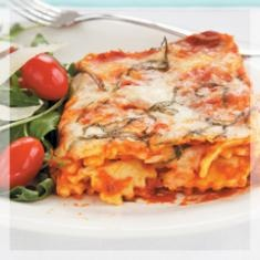 Ravio-sagna  Biggest Loser Cookbook chef Devin Alexander combines two favorite Italian home-cooked dishes into one!