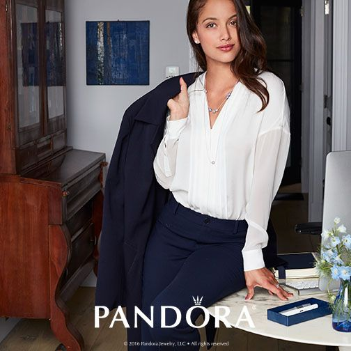 #PANDORAstyle tip: Add a touch of elegance to your 9-to-5 look with PANDORA's ESSENCE COLLECTION. From now until, August 31st, pick up an ESSENCE bangle and your choice of charm for $85 (a $110 value!) Click for full details: http://go.pandora.net/2bIDZ6A
