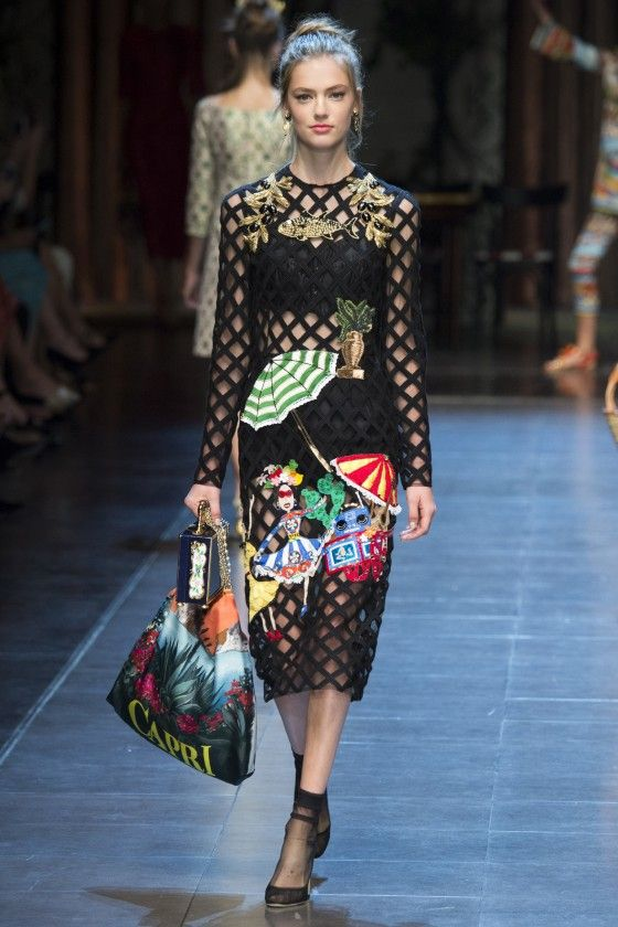 Dolce & Gabbana Spring Summer 2016 Full Fashion Show [runway]