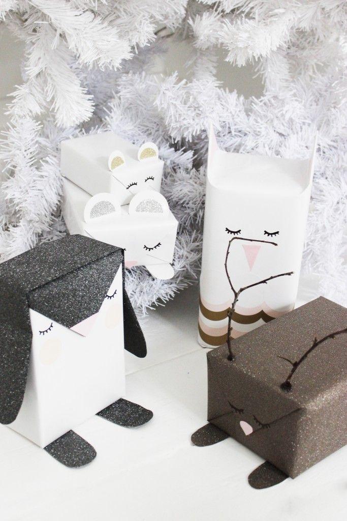 Super schattig! Cadeau inpak ideetjes. cadeau-inpak-idee-diy-blog-bog-ide-dk