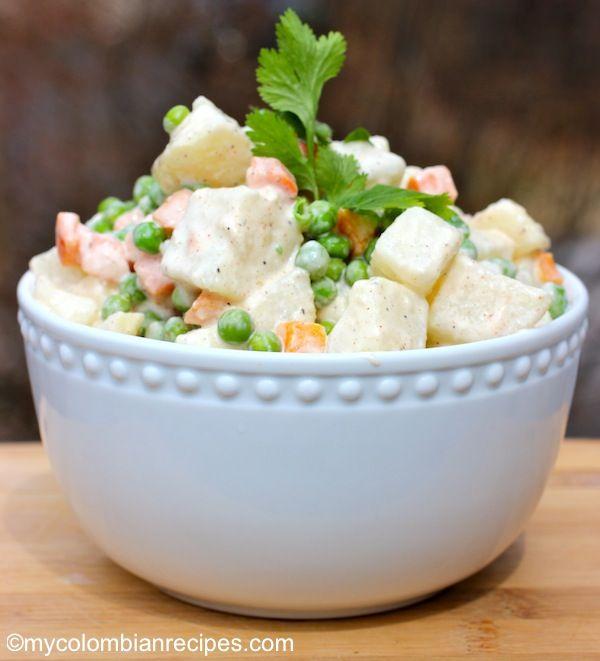 Ensalada Rusa -Columbian potato salad