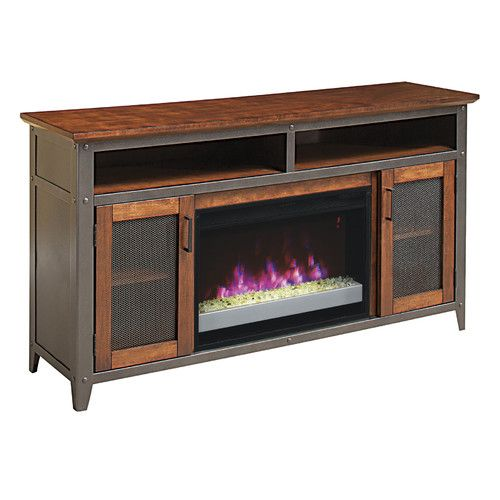 Classic Flame Landis 60 Tv Stand With 26ef031grp Electric Fireplace A Condo Kinda Life