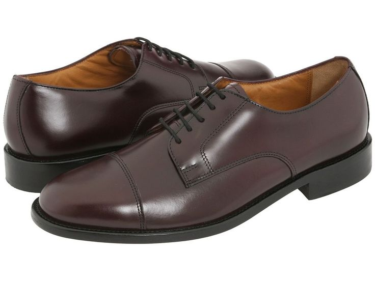 Bostonian Andover Men's Leather Round Toe Dress Shoes Style 25408 Burgundy # Bostonian #Oxfords