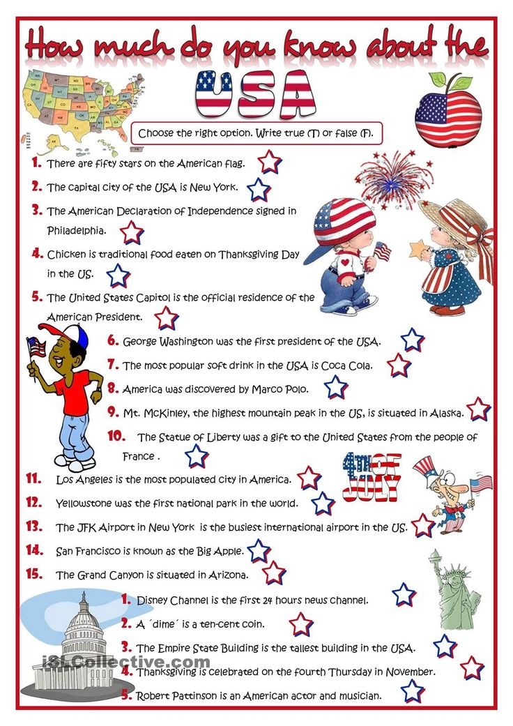 How much do you know about the USA? - quiz