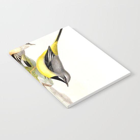 Grey wagtail Notebook