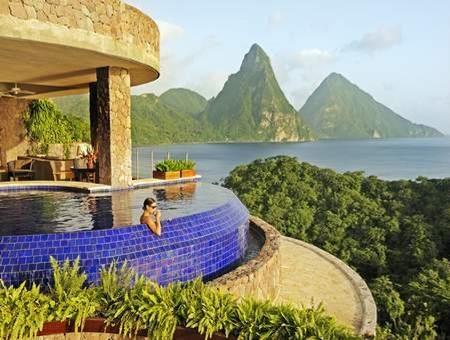 Jade Mountain, St Lucia,