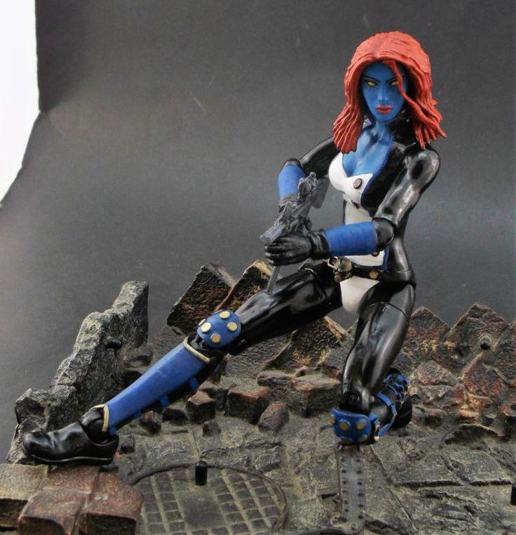 Mystique (Marvel Legends) Custom Action Figure by: Shinobitron